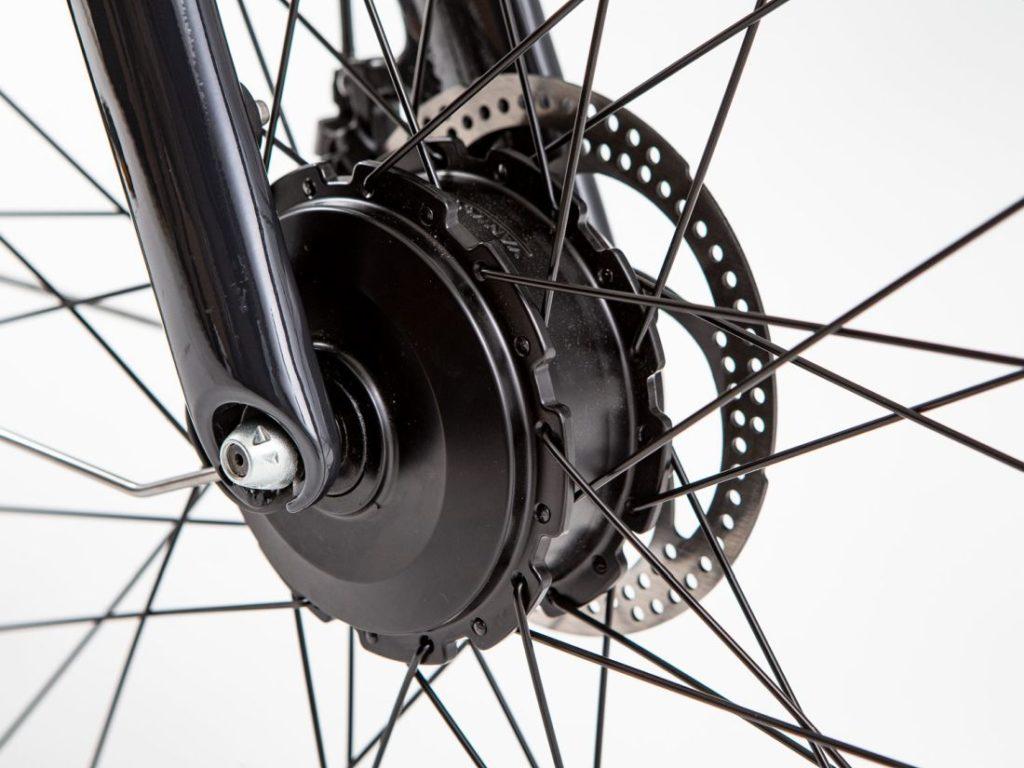 trasformare bici in ebike - motore anteriore